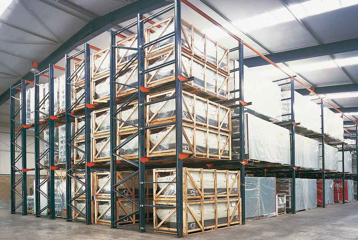 wide Load Drive-in Pallet Racking