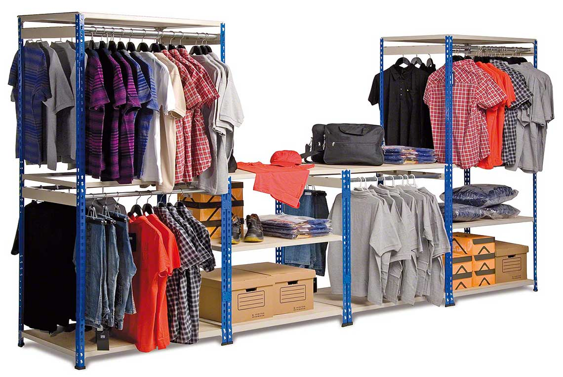 Boltless Shelving bay