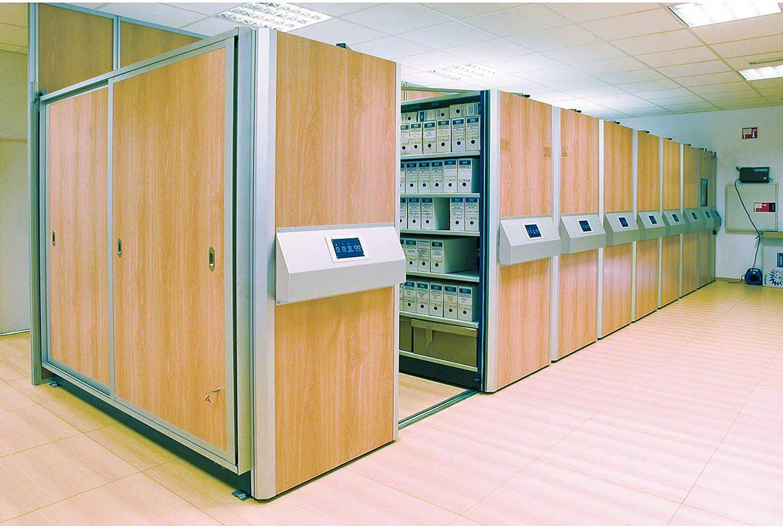 Automated Mobile Shelving
