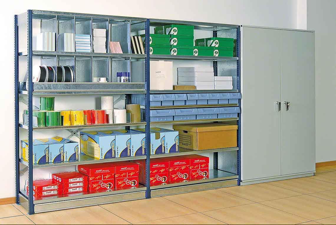 Stock Room Shelving